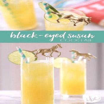 Black-Eyed Susan Cocktail The Black-Eyed Susan Cocktail (the official drink of Preakness) is a brig