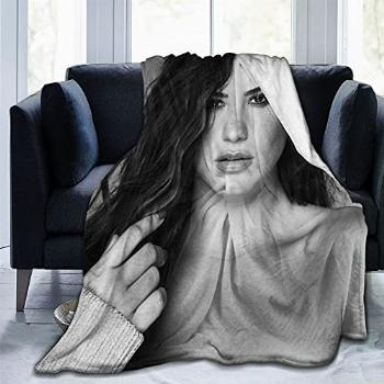 Demi Lovato Tell Me You Love Me Blanket Fit Chair- Fluffy