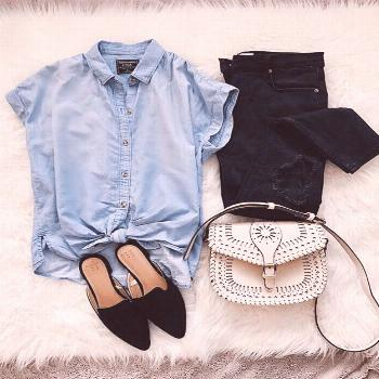 Denim Shirt Outfits You Must Have To Look Stylish Forever