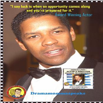 Growth Mindset Lesson Denzel Washington is a terrific role model for our students to study.  His gr