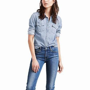 Levi's Women's The Ultimate Western Shirt, Small talk