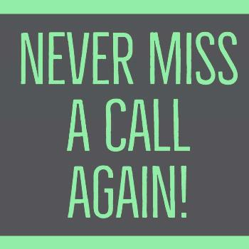 Never miss a call again! CALL-ROLLOVER:  Never miss a call again! Let our virtual receptionist answ