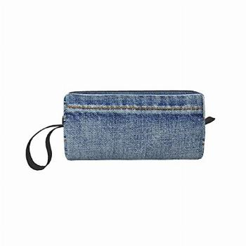 qkwlo Blue Country Empty Back Pocket of Jeans Denim Coin