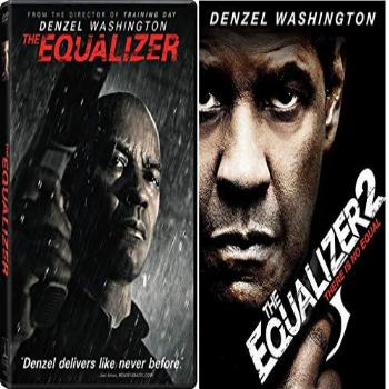 The Equalizer One 1 & Two 2 (2 DVD Set Widescreen) Denzel