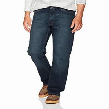 Wrangler Authentics Men's Classic Relaxed Fit Jean, Military