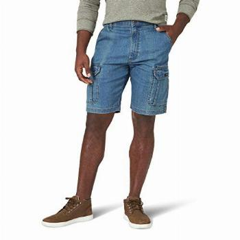 Wrangler Authentics Men's Classic Relaxed Fit Stretch Cargo