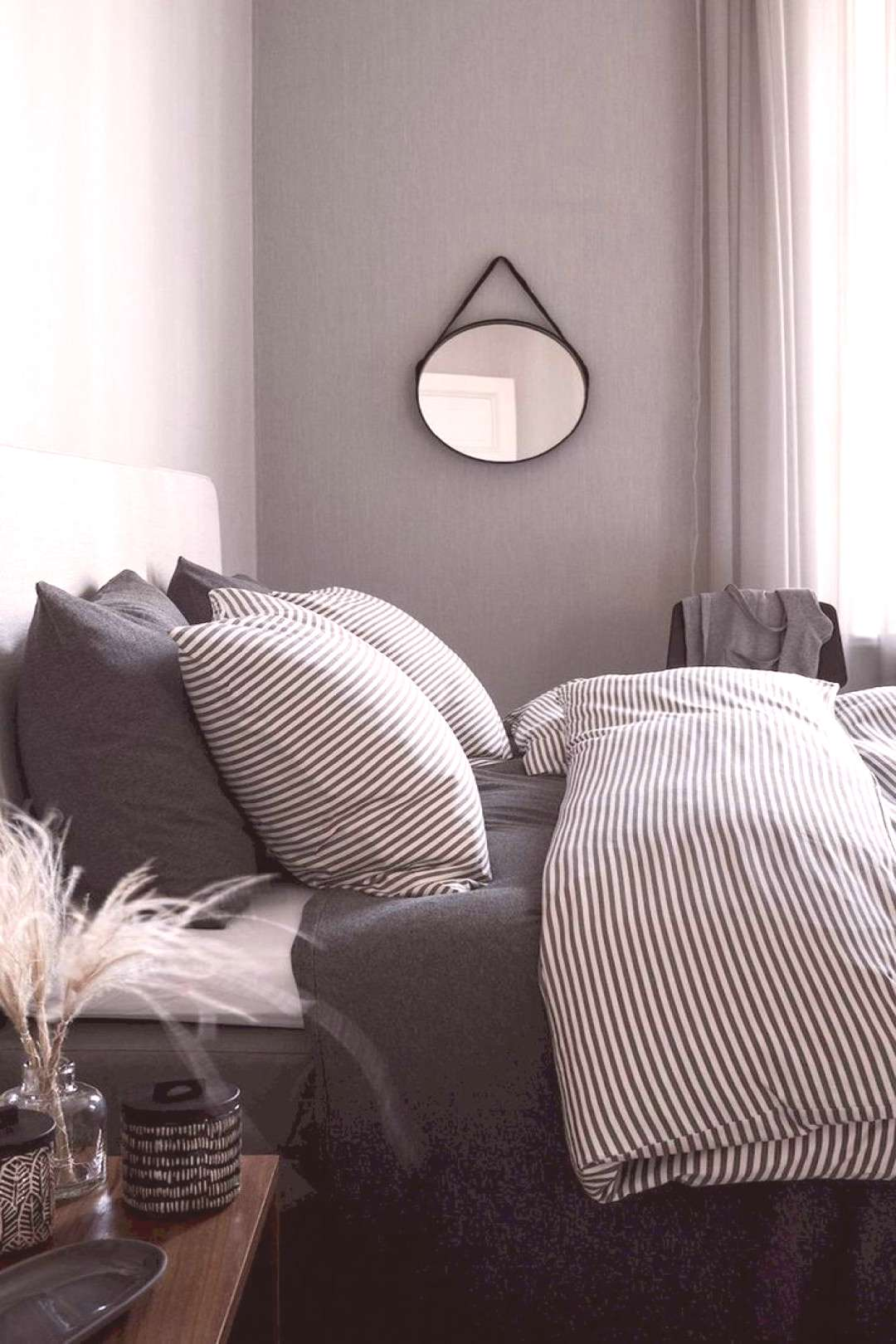 71 Timeless black and white bedrooms that can prevail - Diyselberm ... - 71 Timeless black and whi