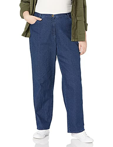 Ruby Rd. Womens Plus-Size Classic 5-Pocket Fly Front Denim