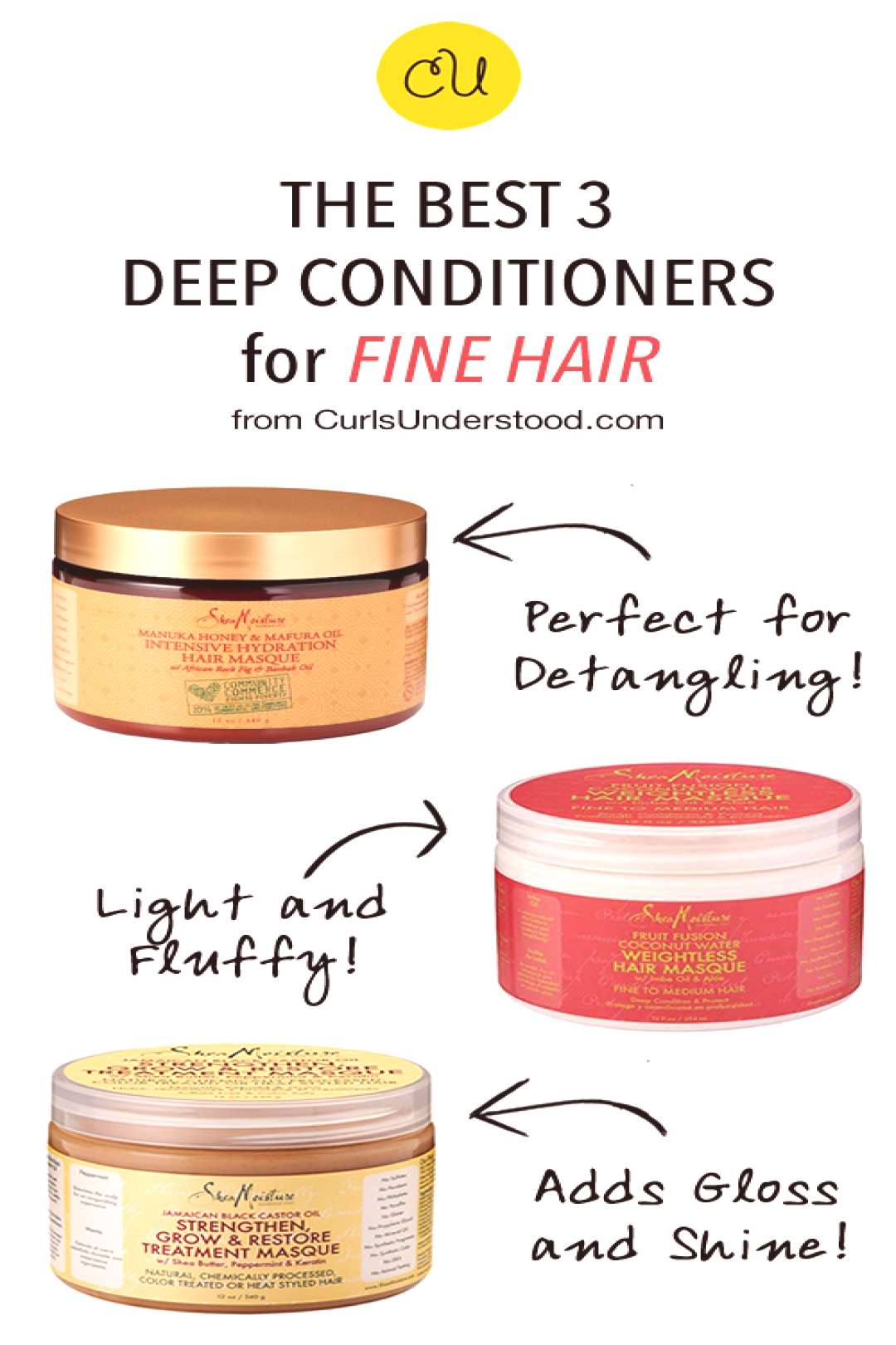 We breakdown our picks for the best deep conditioner for fine hair. Natural hair is fine no matter