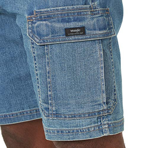 Wrangler Authentics Mens Classic Relaxed Fit Stretch Cargo